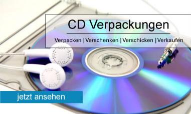 Unsere CD-Verpackungen