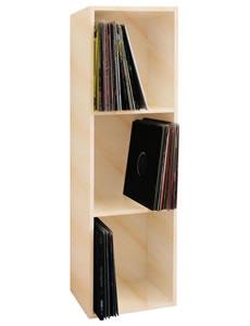"""Details zu VCM Schallplatten-Regal """"Platto"""" für 100 Schallplatten"""