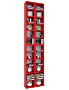 """Details zu VCM CD/DVD-Regal Rack """"Almera"""" für 408 CDs"""