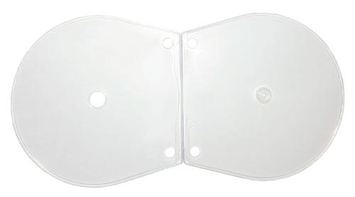 CView CD-Hüllen - klar/transparent - abheftbar (CD-Huellen Cshell)