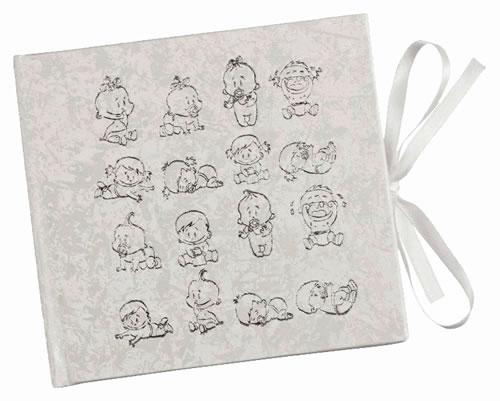 CD Art Box - weiss - mit Baby-Bildern (CD-Luxusboxen)