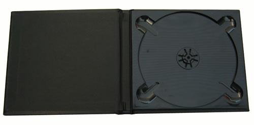 CD Art Box - schwarz - Lederstruktur mit Geburtstags-Bild (CD-Luxusboxen)