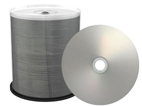 PREMIUM-Line CD-Rohlinge bedruckbar/inkjet printable silber - DIAMOND - 100 Stück (CD-Rohlinge bedruckbar)