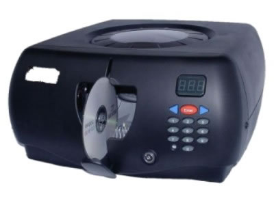 CD/DVD-Butler für 150 Disks - schwarz (Archivierungsautomaten)