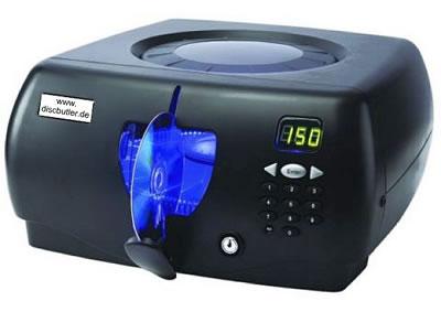 CD/DVD-Butler für 150 Disks - blau beleuchtet (Archivierungsautomaten)