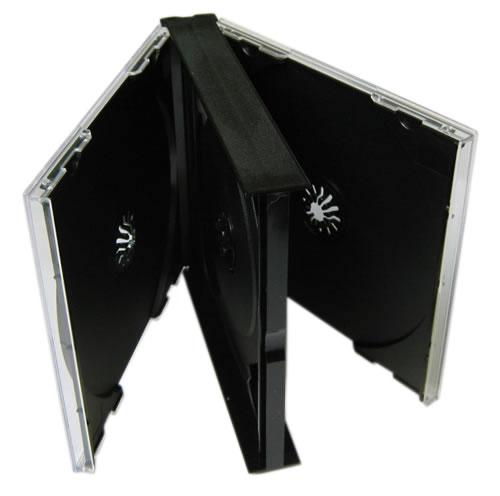 arcomm cd dvd fachmarkt cd mehrfachboxen cd jewelcase 4 fach. Black Bedroom Furniture Sets. Home Design Ideas