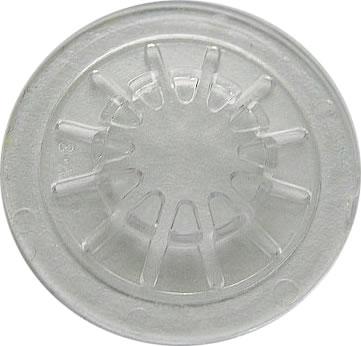 CD-Fixierstern selbstklebend - transparent (Klebepunkte)