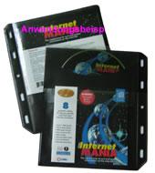 CD/DVD-Archivtasche - 3- in 1 - mit Lochung - 20 Stück (Archivtaschen)