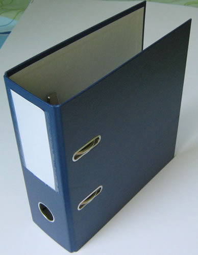 CD-Hebelordner - 3-in 1 - blau (Archivordner)
