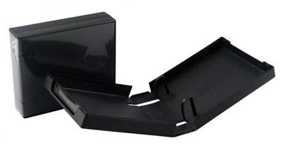 CD/DVD-Archivierungsbox PP20 - schwarz  (Archivierungsboxen)