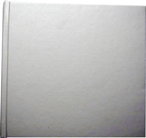 CD Art Box - weiss - Lederstruktur (CD-Luxusboxen)