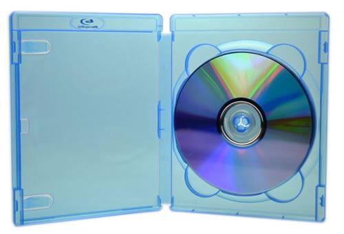 AMARAY BluRay Hülle für 4 bis 7 Disks (DVD-Huellen Slim)