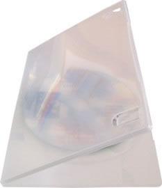 DVD-Slim-Hüllen - transparent (DVD-Huellen Slim)