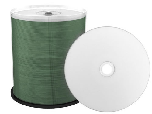 FTI FALCON MEDIA CD-Rohlinge - bedruckbar/inkjet printable weiss - 100 Stück (CD-Rohlinge bedruckbar)