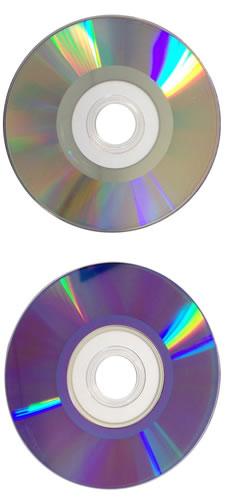 Mini DVD-Rohlinge etikettierbar - Mini DVD-R 8cm 1,4GB (DVD-Rohlinge 8 cm Mini)