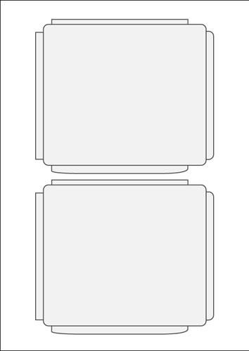 SJB Einleger Inkjet/SuperGloss - 20 Stück (CD-Einleger)