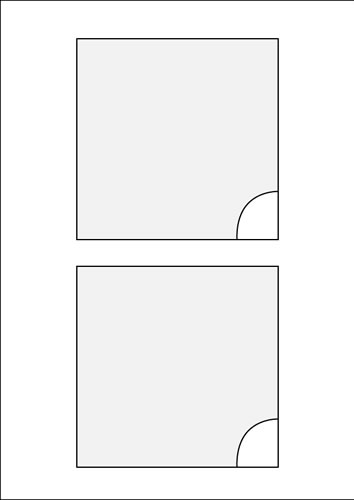 Tri-Key Box Booklet - 40 Stück (CD-Einleger)