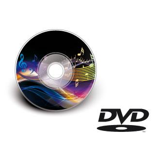 DVD-Bedruckung 8cm inkl. Rohling (BedruckungPreise)