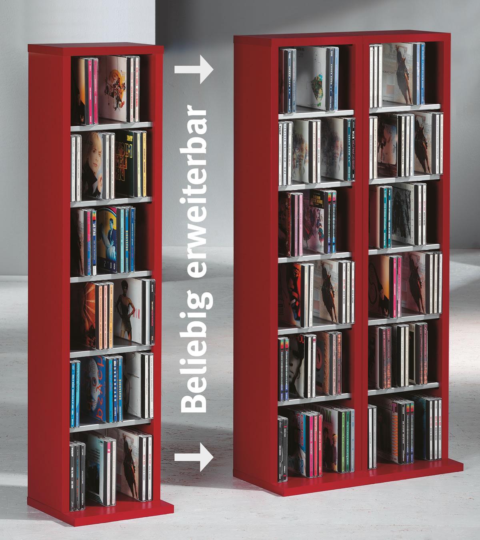 cd regal f r 500 cds bestseller shop f r m bel und einrichtungen. Black Bedroom Furniture Sets. Home Design Ideas