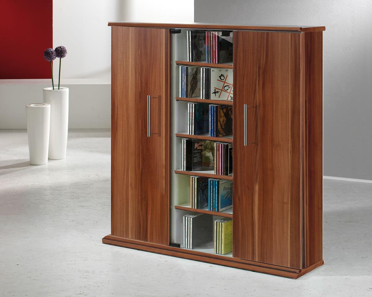arcomm cd dvd fachmarkt cd und dvd moebel cd schrank vcm santo f r 450 cds oder 195 dvds. Black Bedroom Furniture Sets. Home Design Ideas