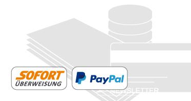 Info zur Zahlung