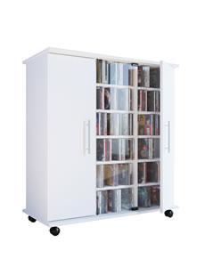 Details zu CD/DVD-Sideboard VCM Luxor für 900 CDs oder 390 DVDs