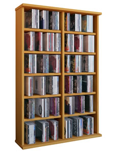 "Details zu VCM CD/DVD-Turm ""Ronul"" für 300 CDs oder 130 DVDs"