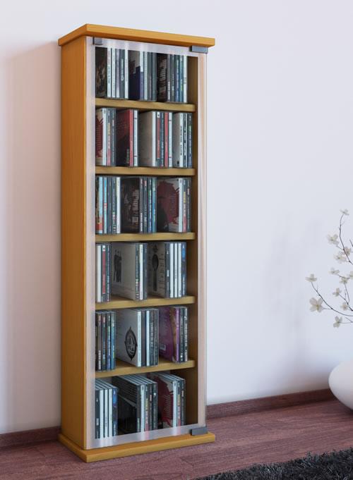 CD-Turm VCM Classic für 150 CDs oder 65 DVDs (CD-Tuerme 100-300)