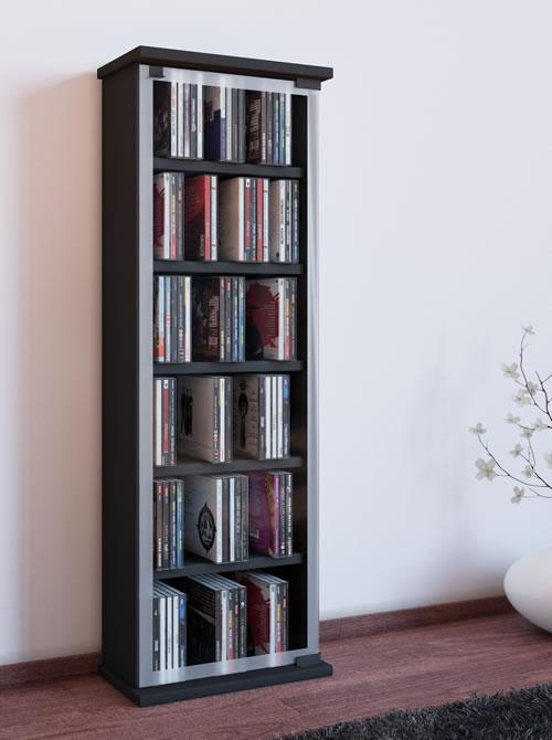 """CD-Turm """"Classic"""" für 150 CDs oder 65 DVDs (CD- und DVD-Moebel)"""