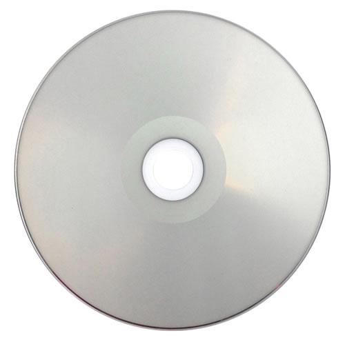 PREMIUM-Line DVD-Rohlinge - bedruckbar/inkjet printable silber - DVD-R 4,7GB - Vollfläche (DVD-Rohlinge bedruckbar)