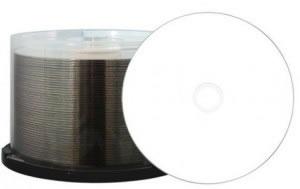 Aqualock CD-Rohlinge - bedruckbar/inkjet printable weiss - glänzend wasserabweisend (CD-Rohlinge bedruckbar)