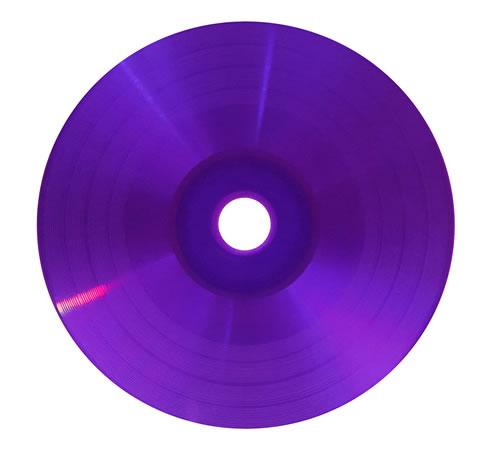 COLOUR-Line CD-Rohlinge Vinyl - komplett lila/violett (CD-Rohlinge farbig)