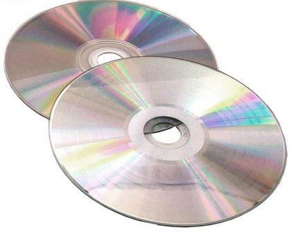 CD-Rohlinge Vinyl Color - etikettierbar - komplett silber (CD-Rohlinge etikettierbar)