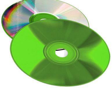 COLOUR-Line CD-Rohlinge  - Brennseite grün (CD-Rohlinge farbig)