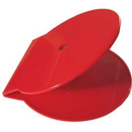 CShell CD-Hüllen - rot vollfarbig (CD-Huellen Cshell)