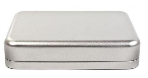 Designer Metalldose 15,5 x 11 cm (CD-Boxen Metall)