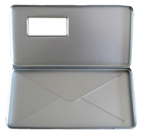 Metallhülle im Briefformat mit Fenster (Designer Metallhüllen) (DVD-Metallboxen)