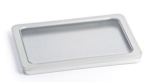 Metallhülle A5 mit Fenster (CD-Boxen Metall)