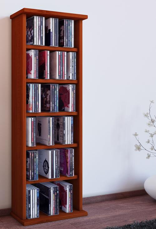 """VCM CD/DVD-Turm """"Vostan"""" für 150 CDs oder 65 DVDs (CD- und DVD-Moebel)"""