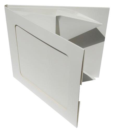 Greenline CD-Hülle aus Karton mit Sichtfenster (Greenline)
