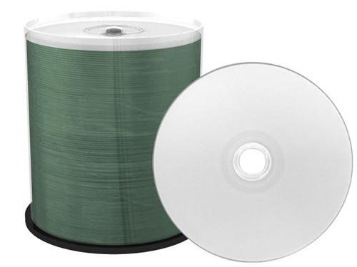 PREMIUM-Line CD-Rohlinge - bedruckbar/inkjet printable weiss - 100 Stück (CD-Rohlinge bedruckbar)