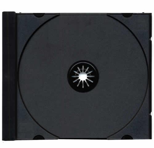 Tray für CD-Jewelcase Ultra High Quality - schwarz (CD-Huellen Jewel Case)