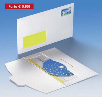 Combi-Diskumschläge für CD (Versandverpackung)