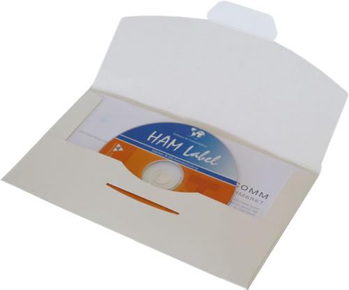 DVD-Umschläge mit Fenster (Versandverpackung-DVD)