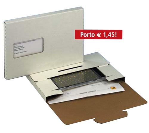 DVD-Diskbox A5 mit Fenster (Versandverpackung-DVD)