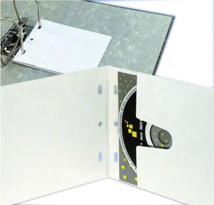 DVD-Kartonstecktaschen - weiss - abheftbar (DVD-Papierhuellen)