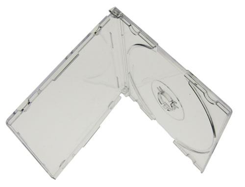 CD-Slimcase für Mini CD-R - transparent - 50 Stück (CD-Rohlinge 8 cm Mini)