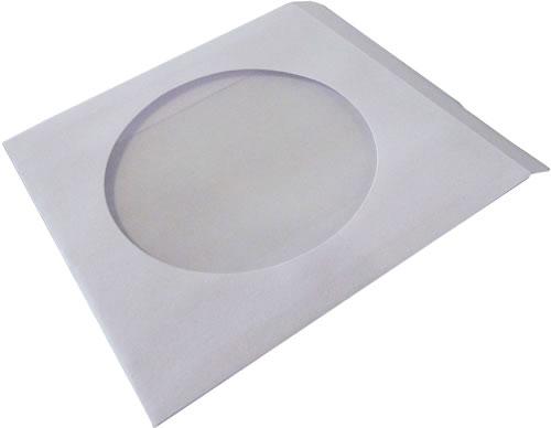 DVD-Papierhüllen für Mini DVD 8cm - 50 Stück (DVD-Papierhuellen)