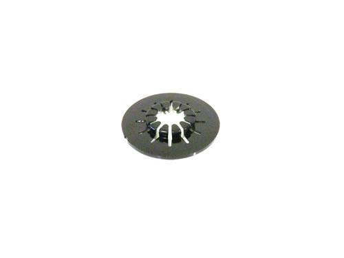 CD-Fixierstern selbstklebend - schwarz (Klebepunkte)