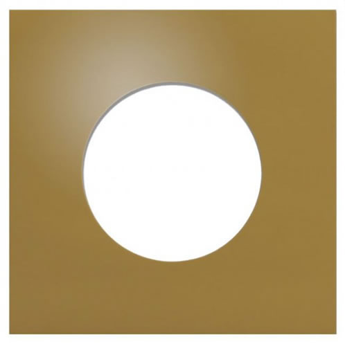 CD-Papierhüllen mit Fenster - metallik gold (CD-Papierhuellen)